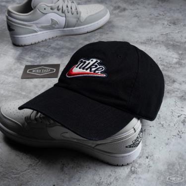 Hàng Chính Hãng Nón Nike Black/Red Smoosh 2021**