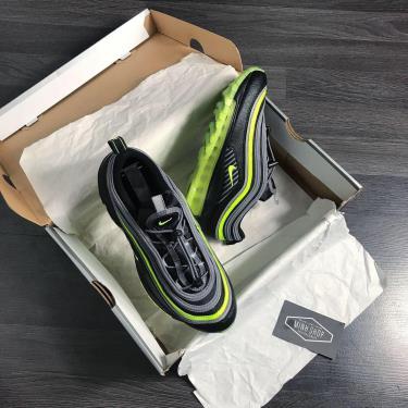 Hàng Chính Hãng Nike Air Max 97 HZG Black/Bolt 2020**