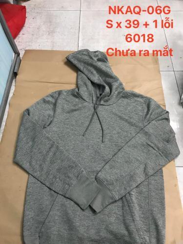 Hàng Chính Hãng Áo Hoodie Nike Dri-fit Grey 2020**