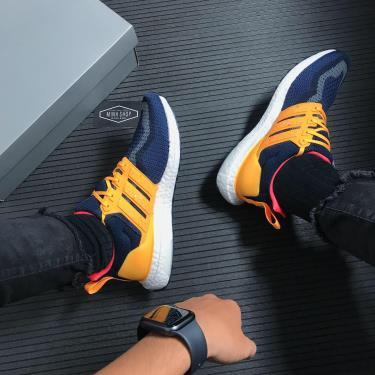 🔜 SP GIẢM MẠNH ĐẶC BIỆT 55%🔜  Giày Adidas Ultra Boost DNA CTY Kuala Lumpur Navy/Solar Gold ** [FZ4865]