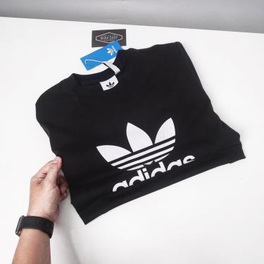Hàng Chính Hãng Áo Thun Adidas Trefoil Black 2021** [CW0709]