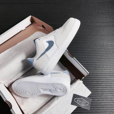 Giày Nike Air Force 1 Low Pure Platinum Indigo Fog ** [O]