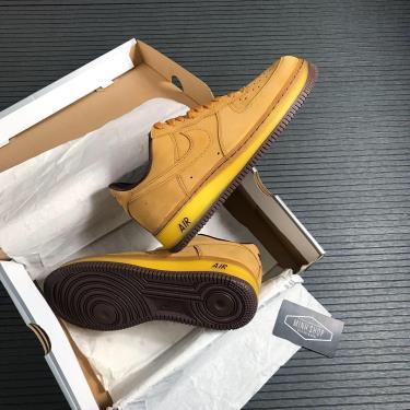 Hàng Chính Hãng Nike Air Force 1 Low Wheat Dark Mocha  2020** v