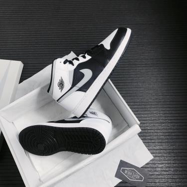 Hàng Chính Hãng Nike Air Jordan 1 Mid White Shadow GS 2021
