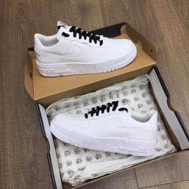 Giày Nike Air Force 1 Pixel White/Black  [O] **  [CK6649 100]
