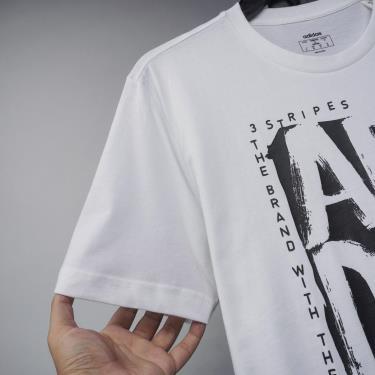 Hàng Chính Hãng Áo Thun Adidas Stamp Tee White 2021**