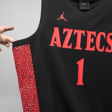 Áo Nike Tank Top Basketball RIO Jersey Black/Red **