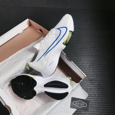 Nike Air Zoom Tempo Next% White/Blue LOGO 2021** [CI9923-103]