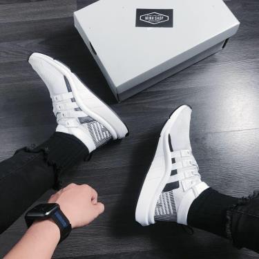 Hàng Chính Hãng Adidas EQT Support Mid ADV Primeknit White Black **2020**