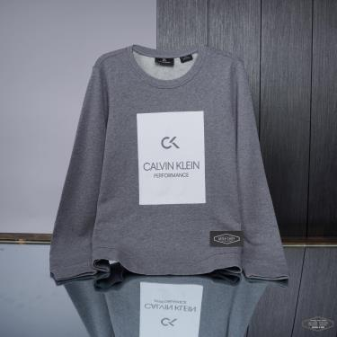 Áo Sweatshirt Calvin Klein Performance Grey ** [00GWS9W370 077]