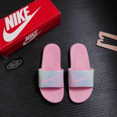 Dép Nike Kawa Slide Holo Pink  [CW1656 600]