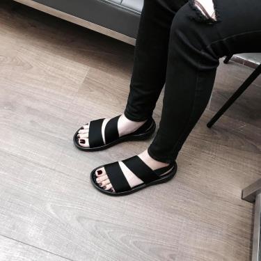 Hàng Chính Hãng Sandal Crocs LiteRide Stretch  All Black 2021**