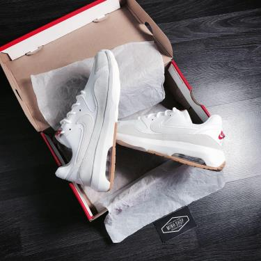 Hàng Chính Hãng Nike Air Max Nostalgic  White-Orange 2 020**