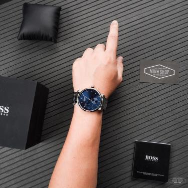Hàng Chính Hãng Hugo Boss Oxygen Blue Watch 2021**