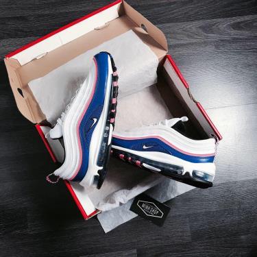 Hàng Chính Hãng Nike Air Max 97 White /Blue 2020**