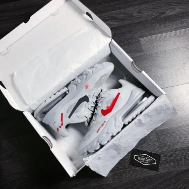 Hàng Chính Hãng Nike Air Max 270 React Just Do It Grey  2020**
