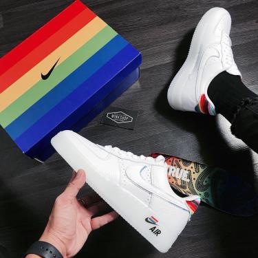 💋Holy Grail💋 Hàng Chính Hãng Nike Air Force 1 Low Be True 2021 ** CV0258 100