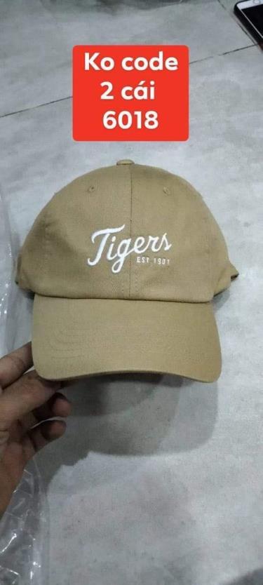 Hàng Chính Hãng Nón MLB Detroit Tigers Brown 2020**