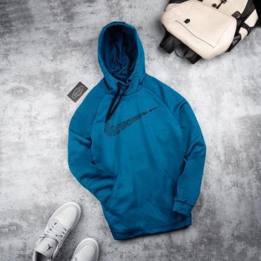 Hàng Chính Hãng Áo Hoodie Nike Brushed Dark Blue 2021**