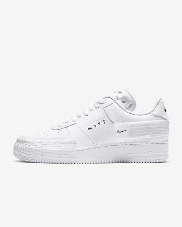 Hàng Chính Hãng Nike Air Force 1 Type 36 2 Triple White 2021**