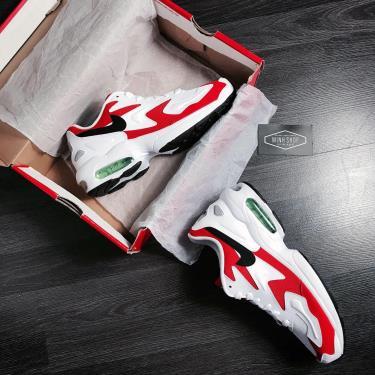Hàng Chính Hãng Nike Air Max 2 Light 'Habanero Red'  2020**