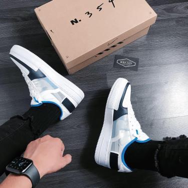Hàng Chính Hãng Nike Air Force 1 Type White/ Blue/Green 2020** V