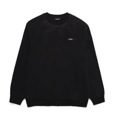 Hàng Chính Hãng Áo Sweater National Geographic Polartec  Micro Fleece Eco Black 2020**
