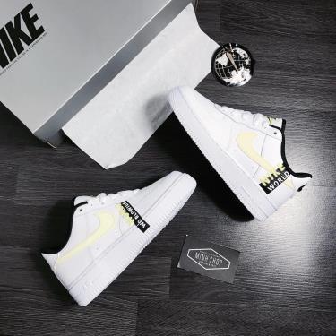 """Hàng Chính Hãng Nike Air Force 1 Low """"Worldwide"""" - White/Neon  2021**"""