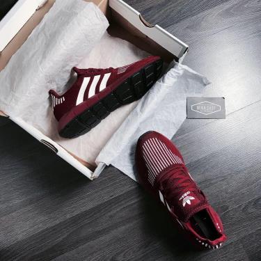 OFF 50% Hàng Chính Hãng Adidas Swift Run  Burgundy 2020**