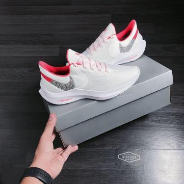 Hàng Chính Hãng Nike Air Zoom White/Black/Pink  2020**