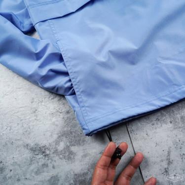 Hàng Chính Hãng Áo Khoác Champion Packable Jacket Baby Blue Basic 2021**