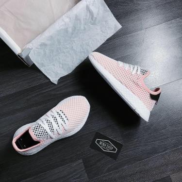 ''HOT DEAL 70% '' Hàng Chính Hãng Adidas Deerupt Runner Light Orange/White/Black 2020**