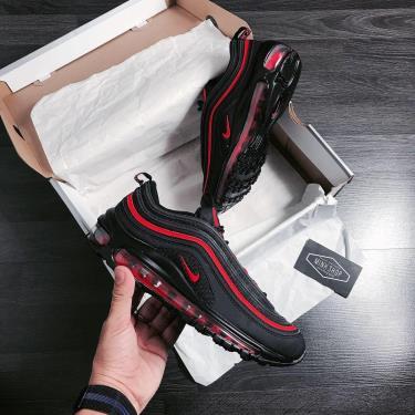 Hàng Chính Hãng Nike Air Max 97 Black/Red 2020**