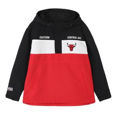 BEST SELLER Hàng Chính Hãng Áo Khoác Jacket NBA Chicago BULL Red Eastern 2021*
