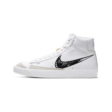 -850K sale Nike Blazer Mid 77 Sketch White Black ** [cw7580 101]