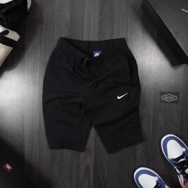 Hàng Chính Hãng Quần Short Nike Black/White Logo 2020**