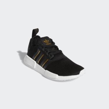 ''FLASH DEAL 50% Hàng Chính Hãng Adidas NMD R1 'Black Gold Metallic' 2020**