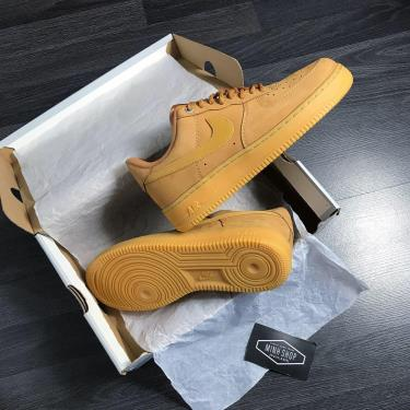 SUPER LIMITED Hàng Chính Hãng  Nike Air Force 1 '07 WB  Flax/Gum WHEAT * 2020** V