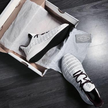 '' FLASH DEAL '' Hàng Chính Hãng Adidas Alphabounce Plus Cloud White/  Burgundy' 2020