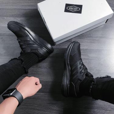 """''FLASH DEAL 70% '' Hàng Chính Hãng  Adidas Galaxy 4 """"Triple Black"""" 2020**"""