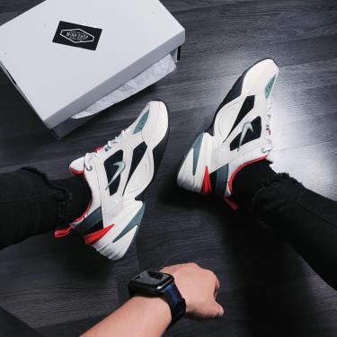 Hàng Chính Hãng Nike M2K Tekno Begie/Green/Orange 2020**