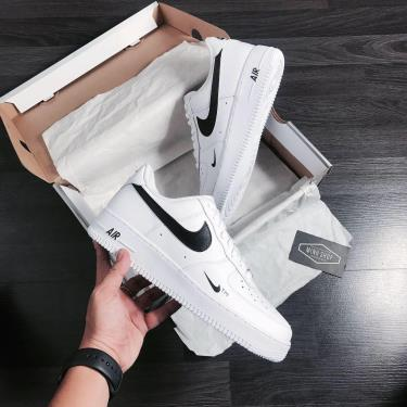 Hàng Chính Hãng Nike Air Force 1 White/Black CUST 2021**