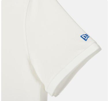 Hàng Chính Hãng Áo Polo New Era White LOGO  **2020**