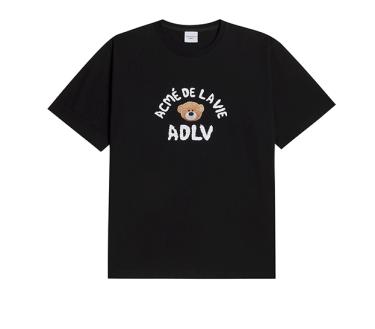 -400k Khai trương Hàng Chính Hãng Áo Thun ADLV Teddy Bear Black 2021**