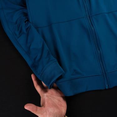 Áo Khoác Jacket Nike Basic Polyester Zip Blue [BQ2014 474]