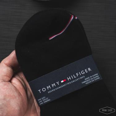 Hàng Chính Hãng Vớ Tommy Hilfiger Black V1 **2020*PACK 3 ĐÔI