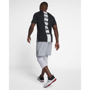 Hàng Chính Hãng Áo Thun Nike Jordan 23 Alpha Black 2021**