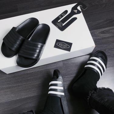 Flash deal~ 50% Hàng Chính Hãng Dép Adidas Adilette Aqua Slides Allblack /white **2020** CÒN 03 đôi