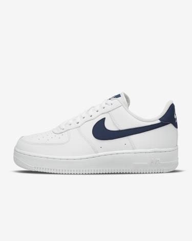 Hàng Chính Hãng  Nike Air Force 07 Low White Midnight Navy 2021**