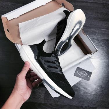 Hàng Chính Hãng Adidas Ultra Boost 21 Black/White 2020**